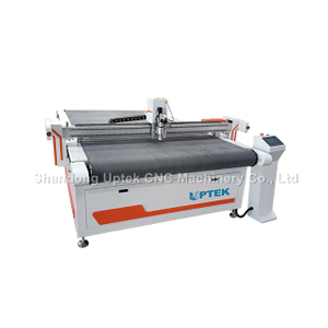 PVC Leather Car Mat Carpet Cutting Machine