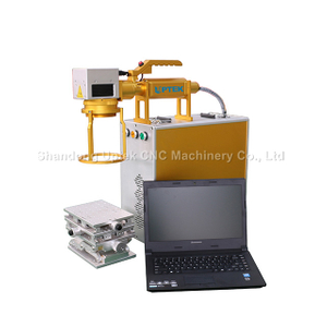 Handheld Fiber Laser Marking Machine for Metal Plastic Leather